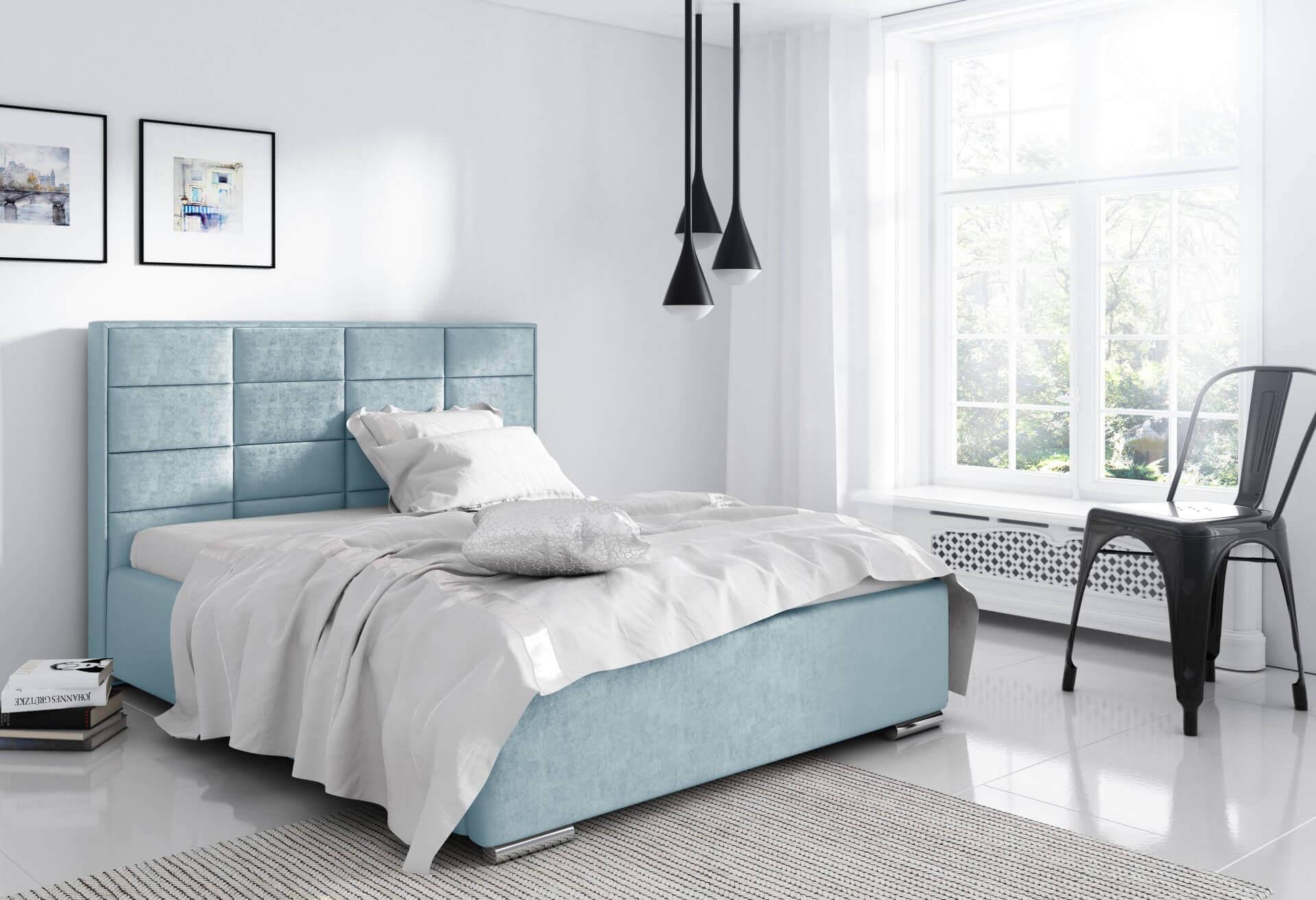 Łóżko tapicerowane Caprie