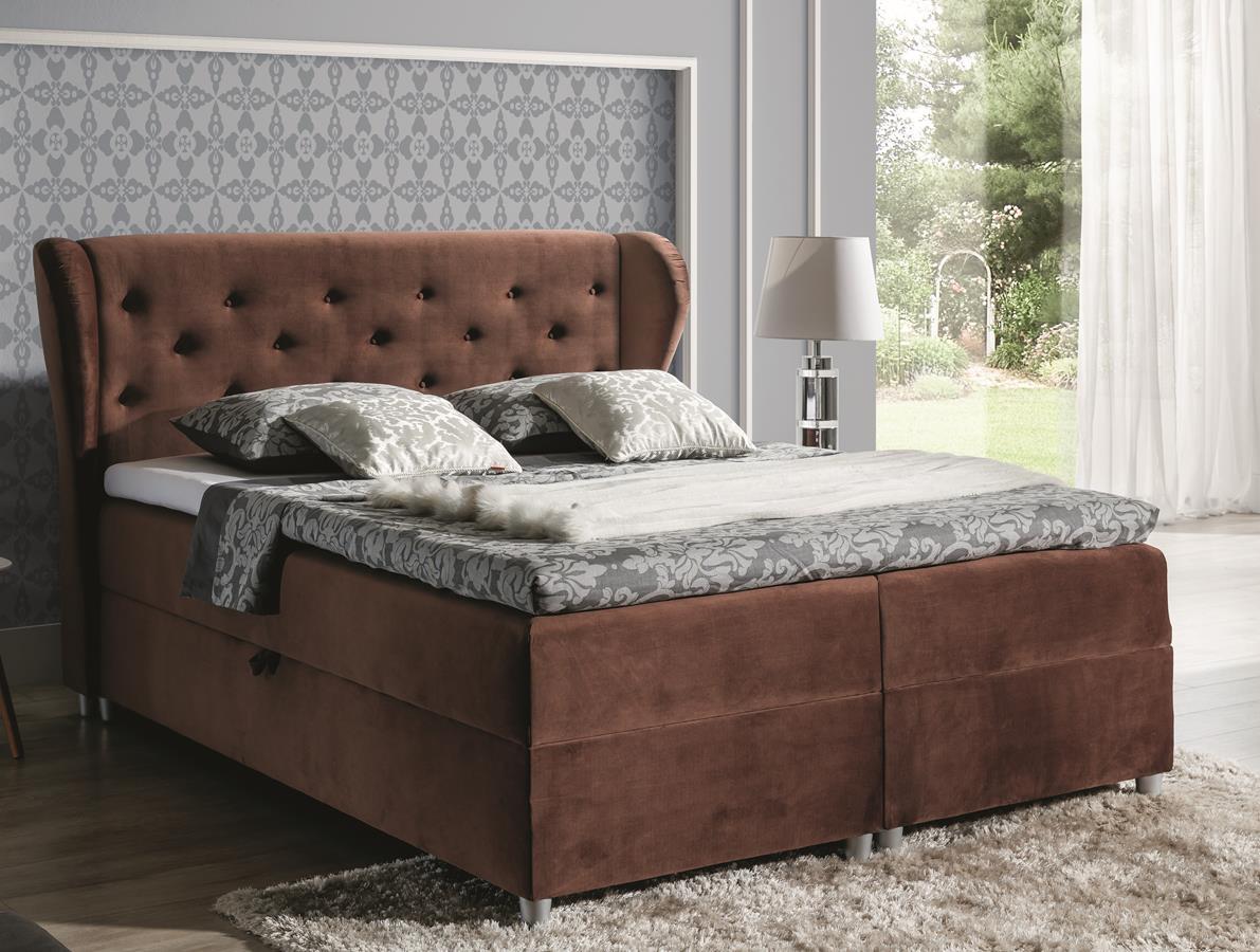 Łóżko kontynentalne Pasito