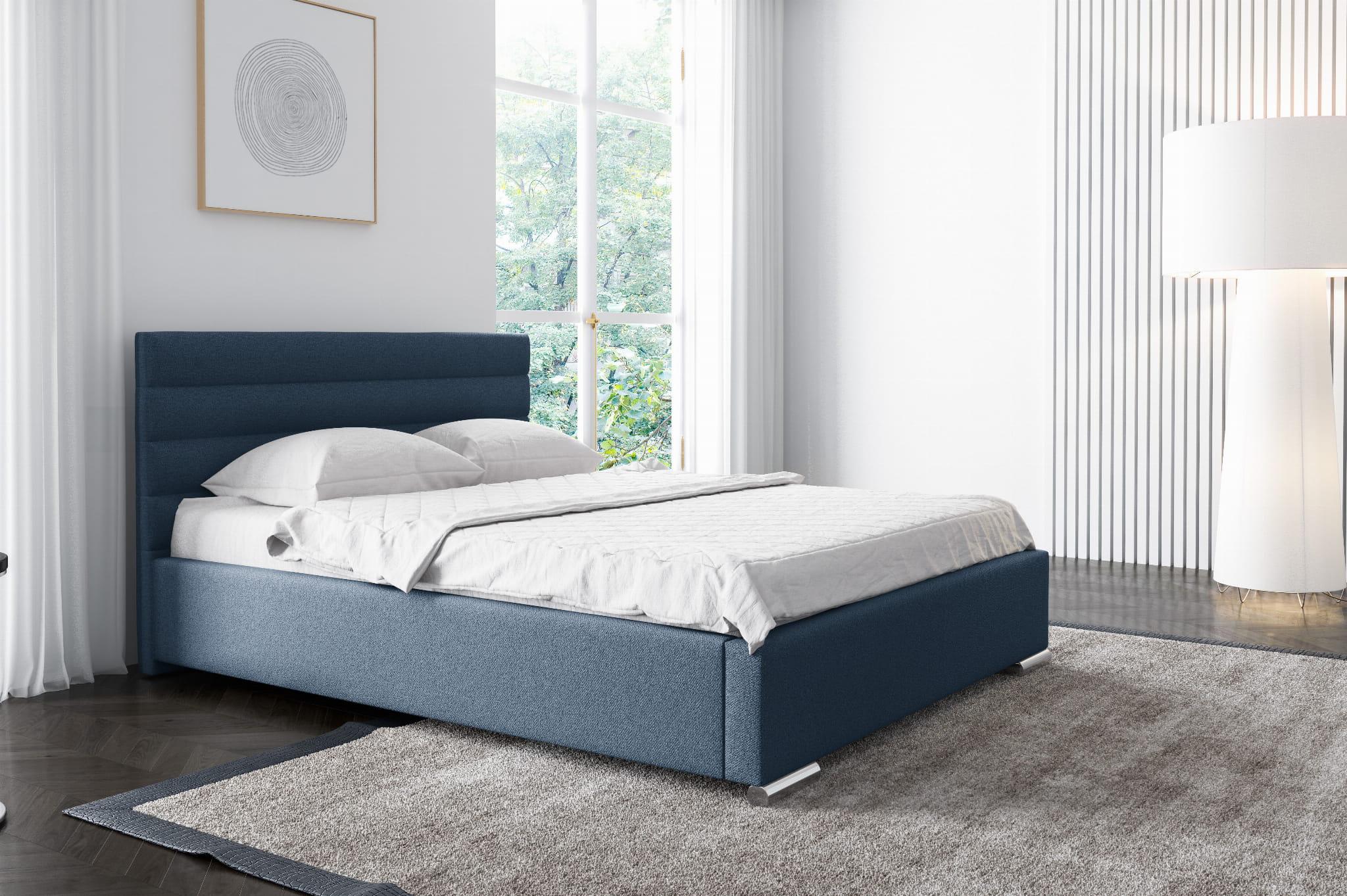 Łóżko tapicerowane Life